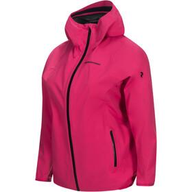 Peak Performance Eastlight Jacket Dame fusion pink
